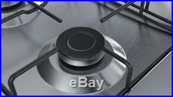 Gas Kochfeld Bosch PGP6B5B80 Erdgas Propangas 7500W Gasplatte Gaskochplatte NEU