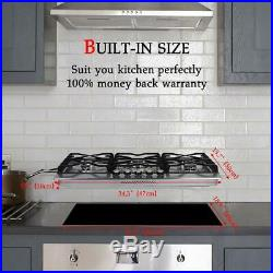 Gasland Chef 34'' 5 Burners Built-in Gas Stove Top Stainless Steel LP-NG PR36BP