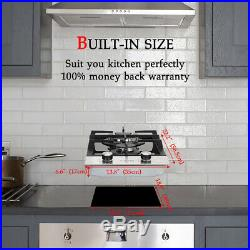 Gasland Chef GH30BF 12'' Built-in Gas Stove Top, Tempered Glass LP- NG