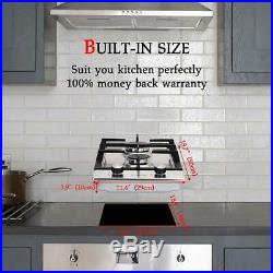 Gasland Chef GH30SF Built-in Gas Stove Top 12'' With 2 Sealed Burners