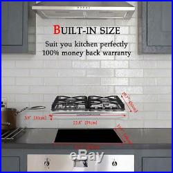 Gasland Chef GH60SF Built-in Gas Stove Top 24'' With 4 Sealed Burners