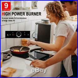 Gasland Chef IH30BFH 12 Built-in Electric Induction Cooktop, 2 Burner, 240V