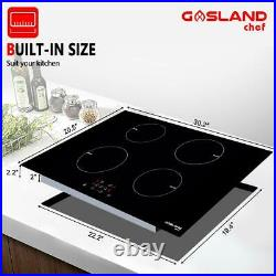 Gasland Chef IH77BF Built-in Induction Cooker, 30'' Electric Stove With 4 Burners