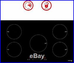 Gasland Chef IH90BF Built-in Induction Cooker, 36'' Electric Stove With 5 Burners