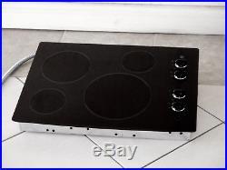 Ge Model Jp346bm2bb 30 Ceramic Glass Electric Cooktop Black Nice