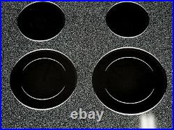 Ge Profile Series Model Jp939w0h1ww 30 Electric Touch Control Cooktop Black