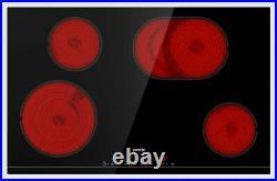 Gorenje Einbaukochfeld autark 80cm Glaskeramik Bräterzone Timer Edelstahlrahmen