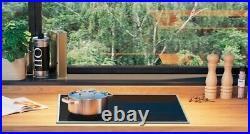 Gorenje Induktionskochfeld 60cm autark 2x BridgeZone Edelstahlrahmen Timer Boost
