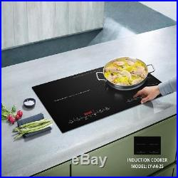 Home Series Digital Dual Electric Countertop Induction Cooktop Touch Portable