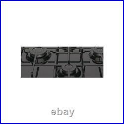 Hotpoint PCN642HBK 60cm Four Burner Gas Hob Black