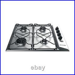 Indesit PAA642IXI Aria 58cm Four Burner Gas Hob Inox