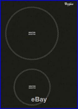 Induktionskochfeld mit Flexizone Whirlpool 60cm autark Slider Flex Timer Booster