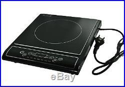 Induktionskochplatte 2000W Timer Kochplatte Kochfeld LCD Display INDUKTION