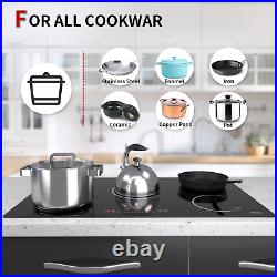 IsEasy 36 Drop-in Electric Induction Cooktop Smooth Top, 5 Burner, Touch, 8600W