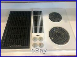 Jenn-Air 30 Electric Cooktop with Grill and Downdraft Options Model CVE4180W