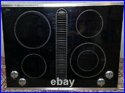 Jenn Air 30 Electric Downdraft Cooktop Drop-In Stainless & Glass JED8430BDS