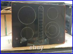 Jenn-Air 30 Inch Electric Radiant Downdraft Cooktop JED8430BDB
