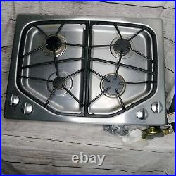 Jenn Air 30 Stainless Gas Cooktop Electronic Ignition Range With 4 Burners