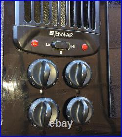 Jenn Air 45 Designer Line Downdraft Electric Cooktop Cartridge JED8345ADB
