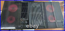 Jenn Air 45 Downdraft Cooktop Designer Line 3 Bay Electric Glass With Grill