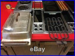 Jenn-Air 48 3-Bay Downdraft Electric Convertible Cooktop Indoor Grill