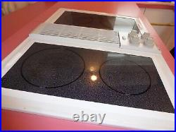 Jenn Air C236w Electric Cooktop With Downdraft Multi Burners & Grill