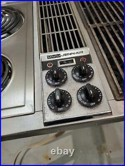 Jenn Air C301 Downdraft 3 bay Cooktop Stainless Steel 47 Classic
