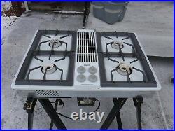 Jenn Air CVG4280w Downdraft Gas cooktop