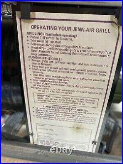 Jenn-Air Cooktop 47 C316 3 Bay Downdraft Electric Griddle Grill Jenn FREE SHIP