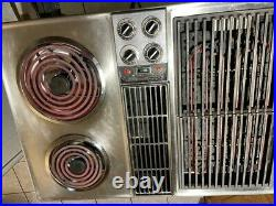 Jenn-Air Down Draft 30 Electrical Cooktop, Tested and works With accessories
