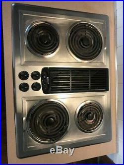 Jenn-Air Downdraft 30 in. Electric Cooktop, Stainless steel 4 elements