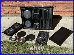 Jenn Air Downdraft Cooktop C228 Black Cartridge Stovetop Glass Grill Range