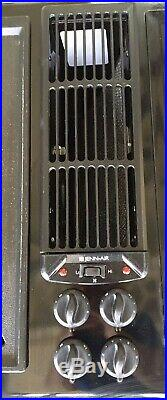 Jenn-Air Electric Downdraft 45 Cooktop Burners Cartridge with Griddle and Manual