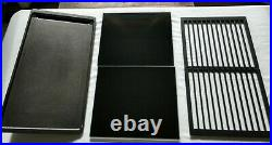 Jenn Air Expressions 30 Electric Drop-In Cooktop withDowndraft CVEX4270B LOOK