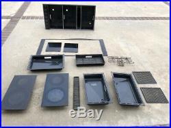 Jenn-Air Expressions Triple Unit Downdraft Modern Electric Range top cvex4370b