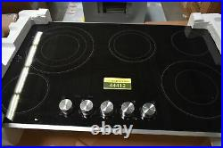Jenn-Air JEC3536BS 36 Stainless 5-Element Electric Cooktop NOB #44412 CLN
