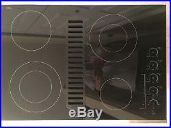 Jenn-Air JED4430WS02 4 Burner 30 Inch Radiant Digital Control Cook Top