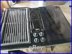 Jenn-Air JED8430 Black Electric Cooktop