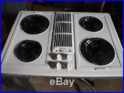 Jenn-Air JED8430 white Electric Cooktop