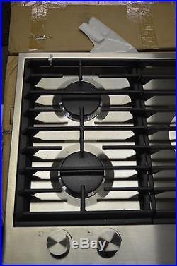 Jenn-Air JGC1536BS 36 Stainless 5 Burner Gas Cooktop NOB #8298