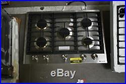 Jenn-Air JGC3530GS 30 Stainless 5-Burner Gas Cooktop NOB #46918 HRT