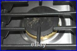 Jenn-Air JGD3536GS 36 Stainless Downdraft Gas Cooktop NOB #44289 HRT