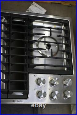 Jenn-Air JGD3536GS 36 Stainless Natural Gas Downdraft Cooktop NOB #103714
