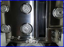 Jenn-Air JGD3536WB Gas Cooktop 36 Black/SS (DUMMIES)