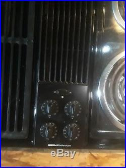 Jenn-Air downdraft cooktop and grill