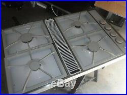 Jenn air downdraft gas cooktop