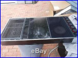 Jenn air expressions tripple unit with grill downdraft
