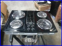 Jenn air jed8130adb black coil downdraft cooktop
