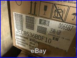 JennAir JEC8536BDF 36 5 Burner Smoothop Electric Cooktop