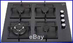 K&H 4 Burner 24 NATURAL Gas Glass Cooktop 4-GCW